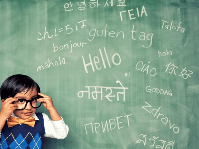 apprendre langues étrangères aux enfants