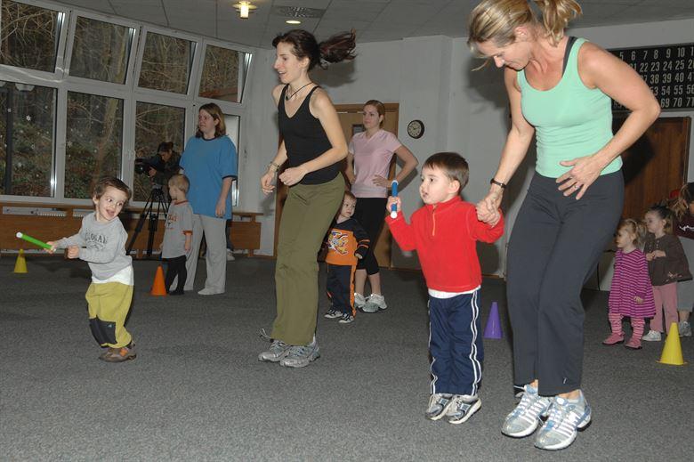 pratiquer sport avec enfants, en famille