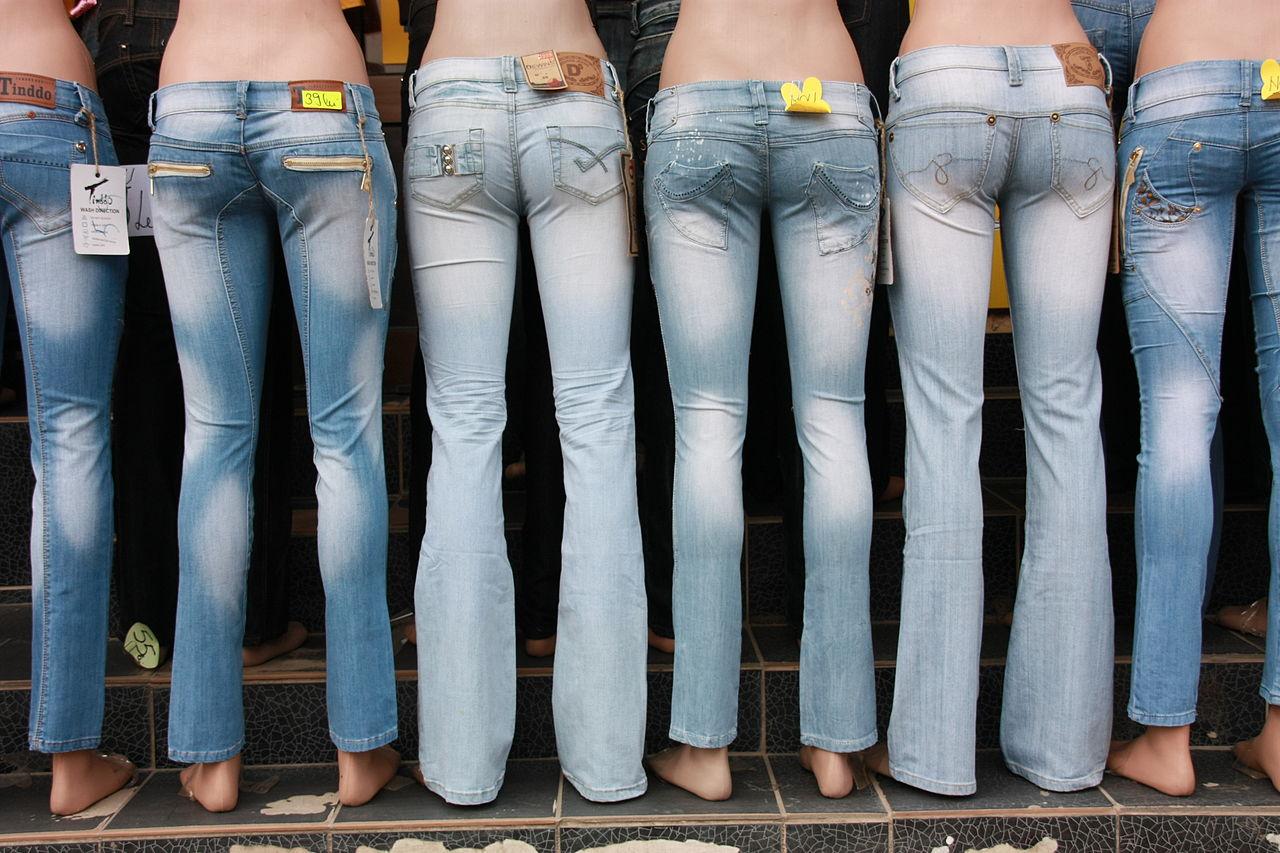 différents types de jeans modernes