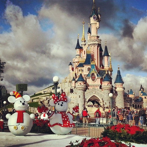 Aller à Disneyland