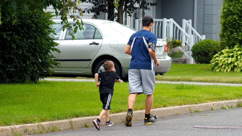 pratiquer sport avec enfants