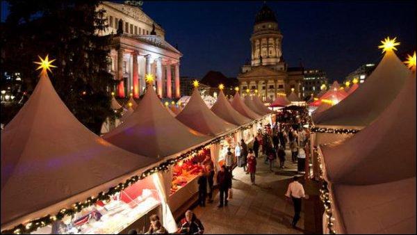 Le marché de Noël d'Alexander Platz