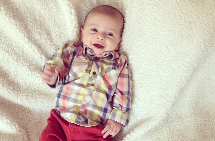 La motricité globale d'un enfant de trois mois