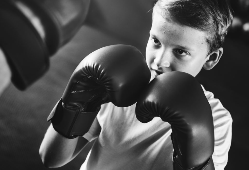 punching ball enfant boxe