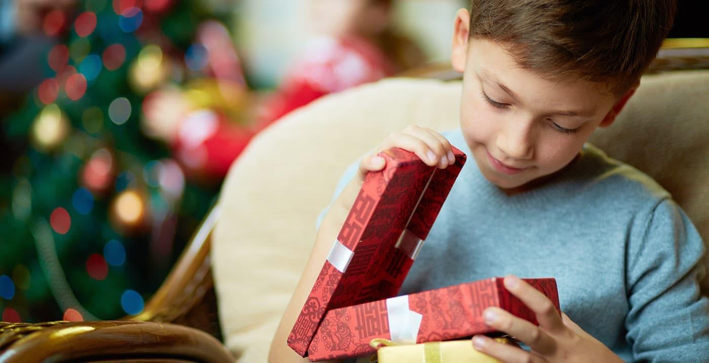 Offrir un cadeau à son enfant