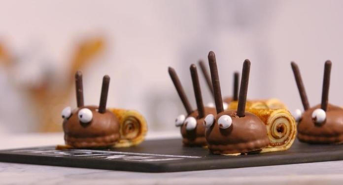 Dessert au chocolat pour enfant