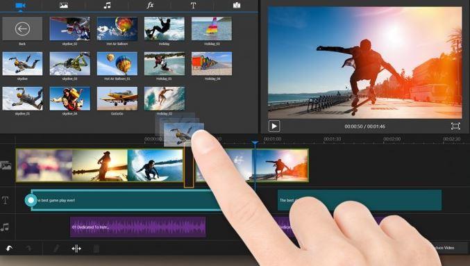 montage vidéo en ligne